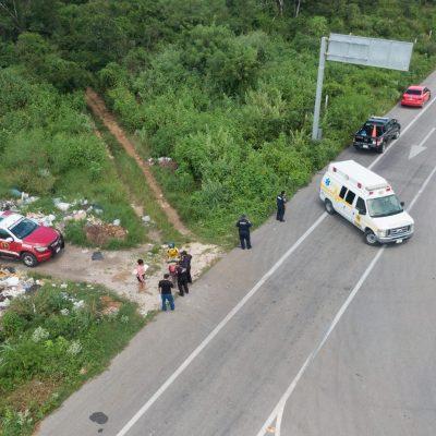 Rápida actuación de la Policía de Kinchil en auxilio de mujer herida por arma de fuego
