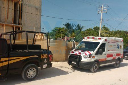 Muere albañil tras recibir fulminante descarga eléctrica en Chelem