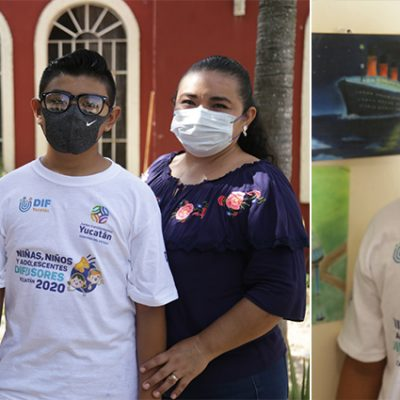 Adolescente de Tixkokob gana segundo lugar de concurso nacional de creatividad
