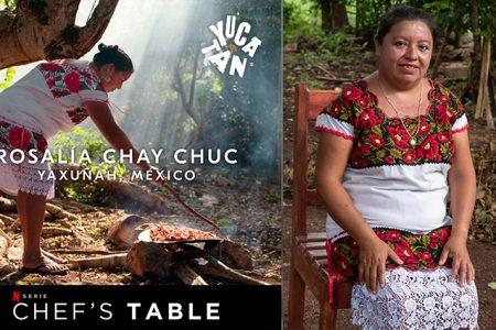 De Yaxunah, Yaxcabá para el mundo: Rosalía Chay lleva la cocina yucateca a Netflix