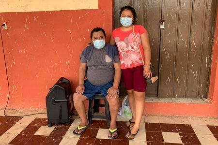 Una hija ejemplar: cuida a su papá con Covid, se contagia y juntos siguen adelante