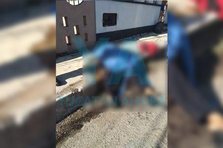 Fallece un sexagenario en una banqueta frente a su casa, en Valladolid