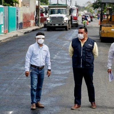 Avanzan obras de movilidad urbana que facilitan la vida de los meridanos