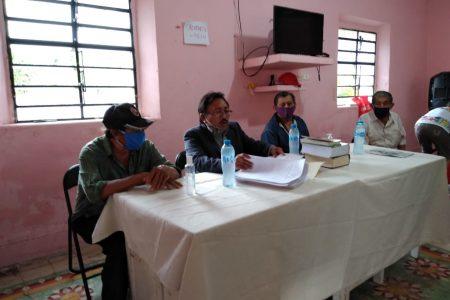 Ejidatarios de Tizimín piden a la FGE que pida arresto contra ex comisario