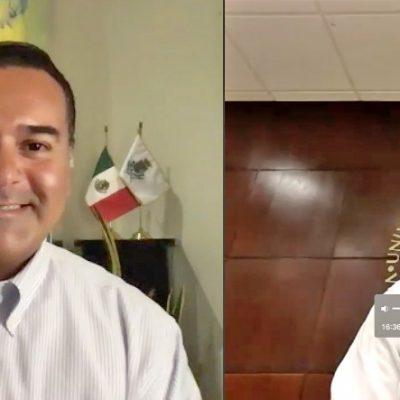 Renán Barrera firma convenio para garantizar la seguridad alimentaria en Mérida