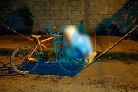 Vecino del sur de Mérida fallece en un triciclo