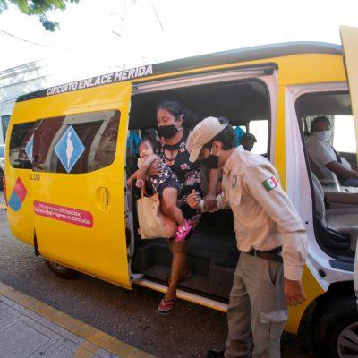 Usuarios del transporte consideran un acierto el Circuito Enlace Mérida