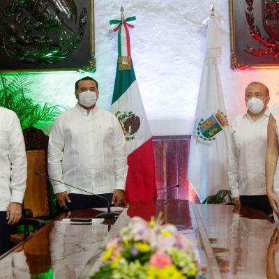 Renán Barrera llama a seguir haciendo patria con la suma de esfuerzos para superar la crisis de Covid-19