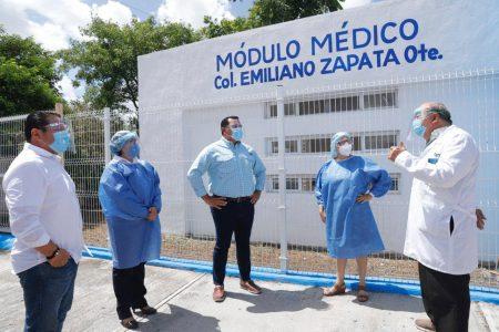 El Ayuntamiento de Mérida reactiva sus módulos de salud