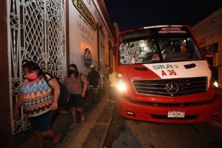 Plan de transporte sortea la reapertura de más negocios en Mérida