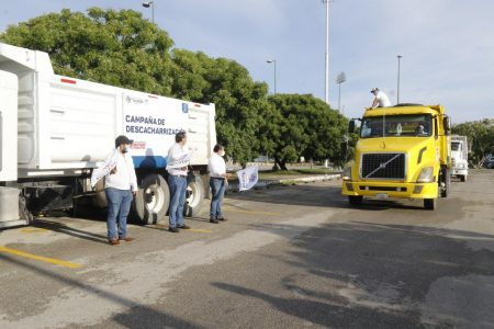 Ya empezó la campaña de descacharrización en Mérida y sus comisarías