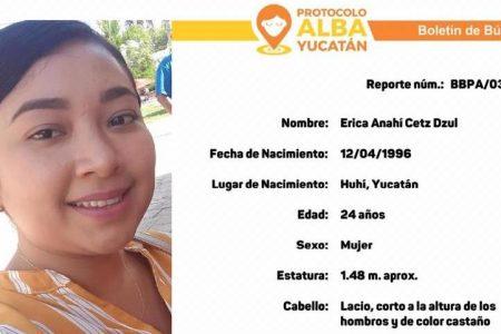 Emiten protocolo Alba por la desaparición de la joven yucateca Erika Anahí Cetz Dzul