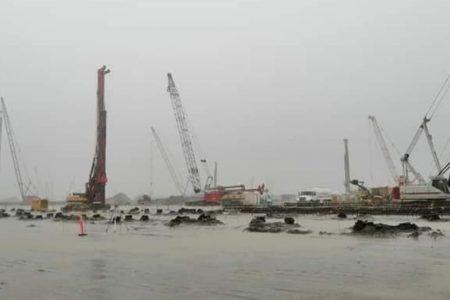 Fue encharcamiento, no inundación en Dos Bocas: AMLO