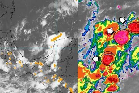 El miércoles llegará fuerte norte a Yucatán… y chocará con una onda tropical