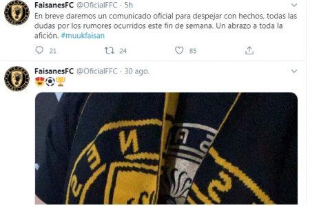 Los Faisanes de Yucatán anuncian que darán a conocer su postura oficial