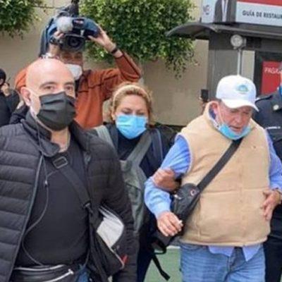 Gilberto Lozano, líder de FRENAA, abandona plantón en CDMX: alega sentirse mal