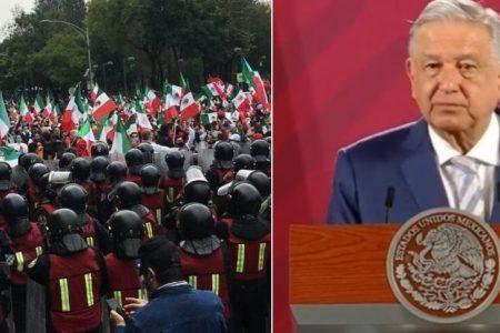 FRENAAA tiene garantizado el derecho a manifestarse: AMLO