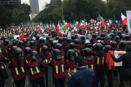 Se detuvo a FRENAA para cuidar a sus integrantes: Gobierno de CDMX