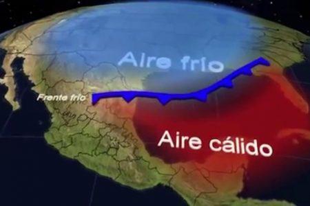 Pronostican que llegarán a México 54 frente fríos en la temporada invernal