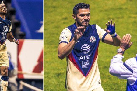 El yucateco Henry Martín continúa encendido: suma tres goles en tres partidos