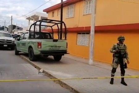 Encuentran muerto a un hombre en casa de 'huachicol' en Progreso