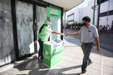 El centro de Mérida, más seguro en la reapertura económica