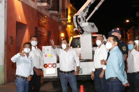 El gobernador y el alcalde de Mérida supervisan avance del Plan de Mejora a la Movilidad