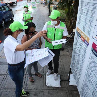 Usuarios siguen respondiendo de manera positiva a las nuevas zonas del transporte en el Centro Histórico