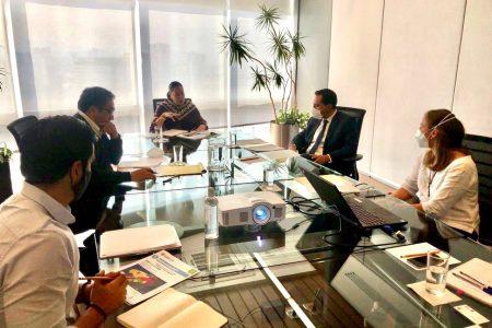 Mauricio Vila y titular de la Semarnat revisan avances de la agenda ambiental de Yucatán