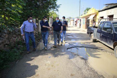 Lucha sin cuartel contra las calles en mal estado en Tekax