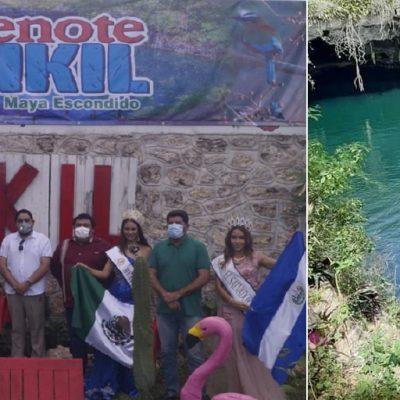 Ya puedes visitar el cenote Kikil en Tizimín
