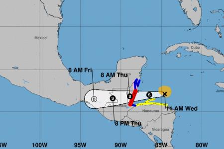 Nana continúa avanzando hacia Belice: se espera que propicie lluvias en Yucatán