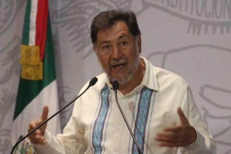 Noroña denuncia 'operación de Estado' para que el PRI dirija la Cámara de Diputados