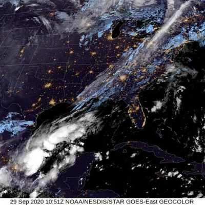 Viene fuerte el primer norte que llega a Yucatán, pero será más lluvia que frío