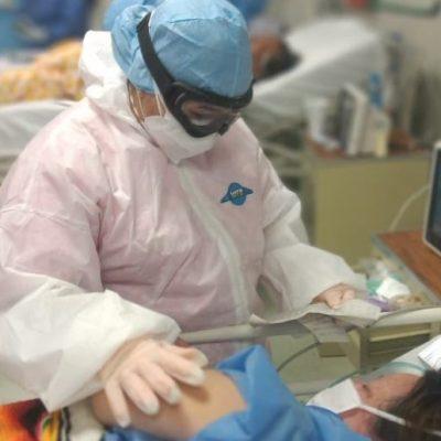 A la baja hospitalizaciones por Covid-19 en Yucatán