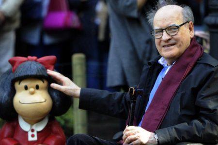 Muere el dibujante argentino Quino, creador de Mafalda