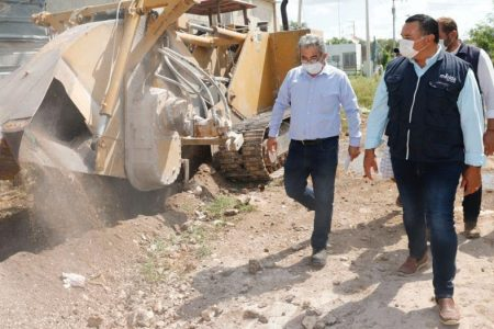El Ayuntamiento extiende obras y servicios básicos a las colonias más vulnerables de Mérida