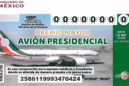 Piden a notarios de Yucatán que compren 'cachitos' para la rifa del avión presidencial