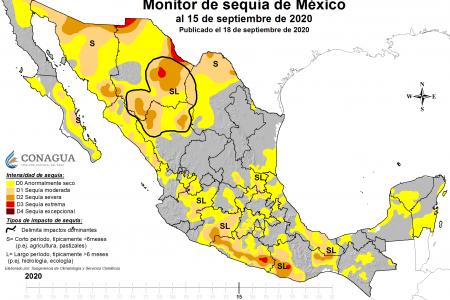 Lluvias insuficientes: latente la aparición de sequía en la Península de Yucatán