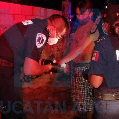 Madrugador pleito lo envía al O'Horán: hermanos lo atacan con un cutter