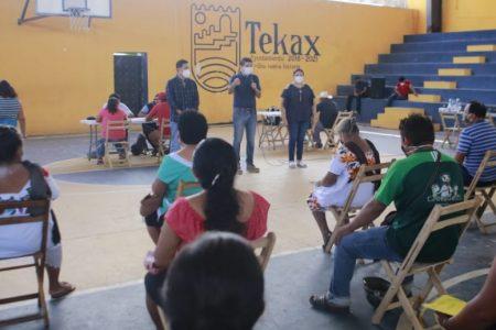 Pese al Covid-19, en Tekax continúan las acciones de vivienda a favor de las familias