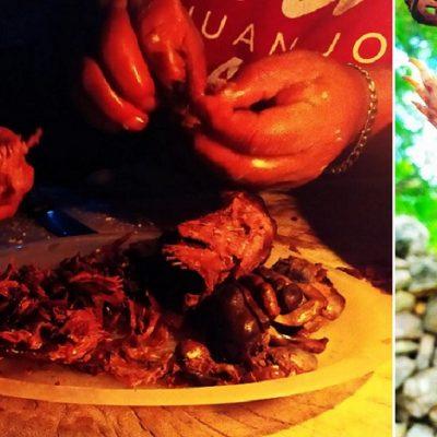 La tuza, de plaga a ingrediente básico de un rico manjar de los pueblos mayas