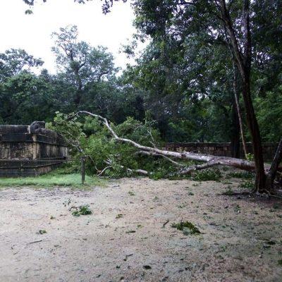 Cierran Chichén Itzá por afectaciones de la tormenta tropical Gamma