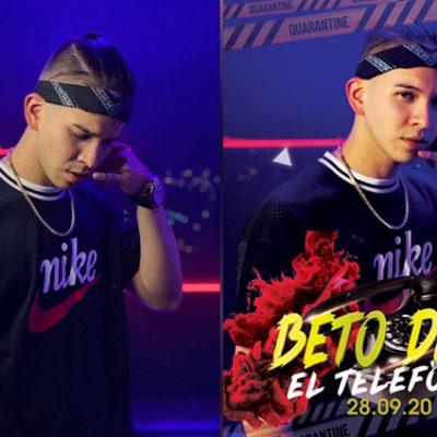 El yucateco Beto Díaz, presenta su segundo single 'El Teléfono', grabado en Colombia