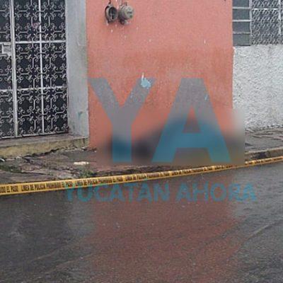 Muere en calles del centro de Mérida