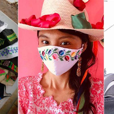 Dona y apoya a jóvenes músicos del mayab, adquiriendo cubrebocas bordados tradicionales