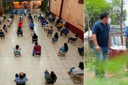 Familias de Kanasín le demuestran total apoyo a Edwin Bojórquez