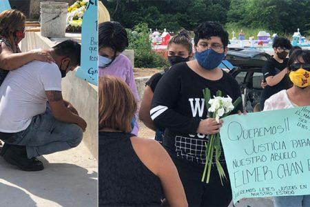Despiden a don Elmer: asesino sigue libre y familia exige justicia