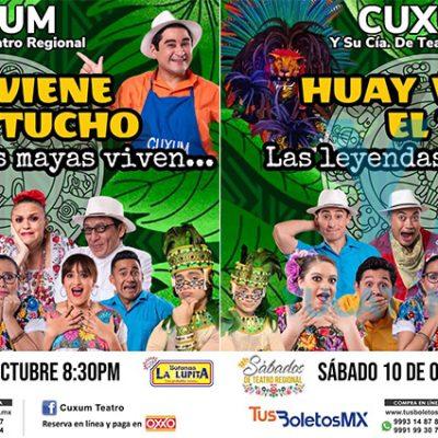 """""""Huay viene el tucho"""", este sábado con Cuxum y su Cía de Teatro regional"""