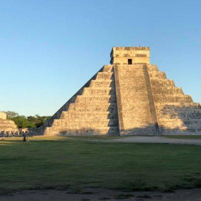Saldo blanco en zonas arqueológicas de Yucatán, tras el paso de Zeta